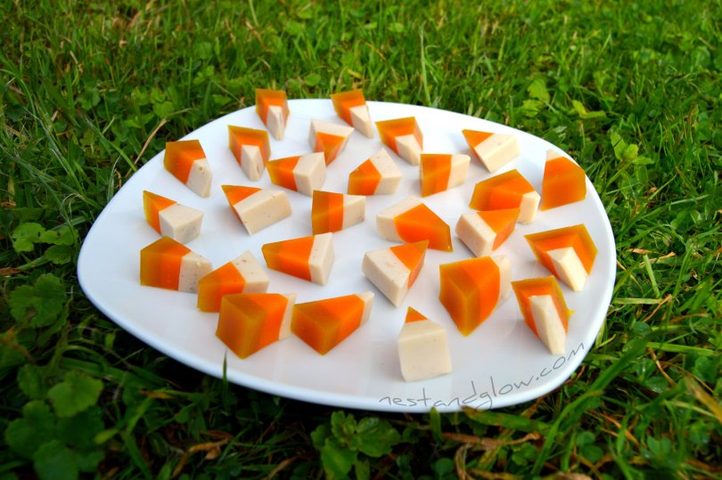 Healthy Candy Corn Veggie Recipe