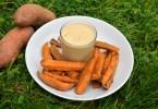 Sweet Potato Cinnamon Chips & Macadamia Vanilla Dip