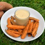 Sweet Potato Cinnamon Chips & Macadamia Vanilla Dip