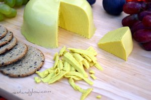 raw vegan sunflower cheese that grates