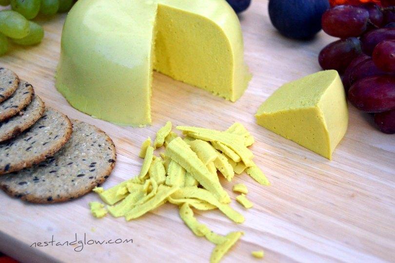 raw vegan sunflower cheese that grates