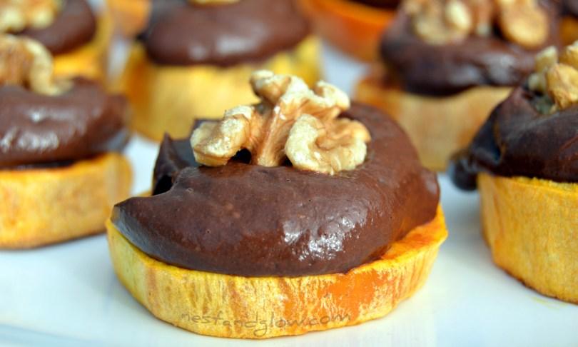 Chocolate Avocado Sweet Potato Bites Recipe