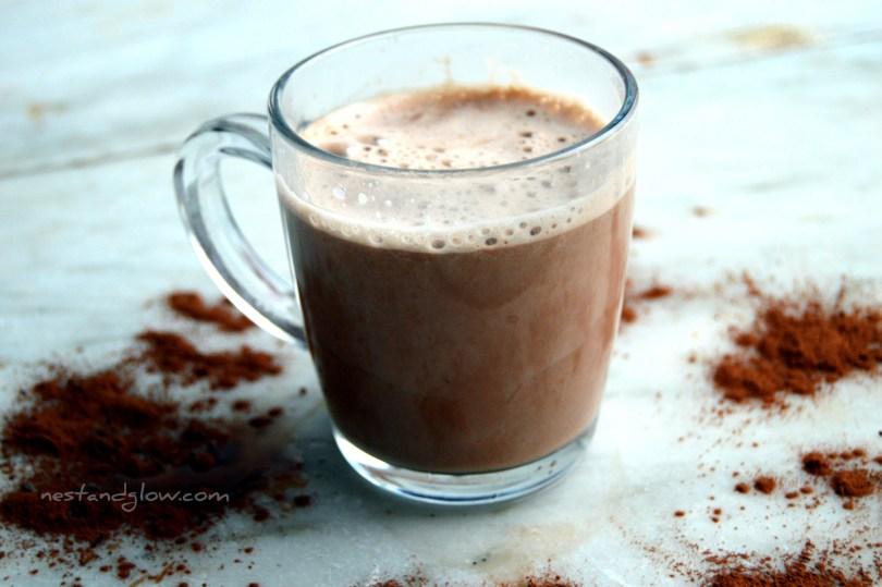 Raw vegan hot chocolate recipe