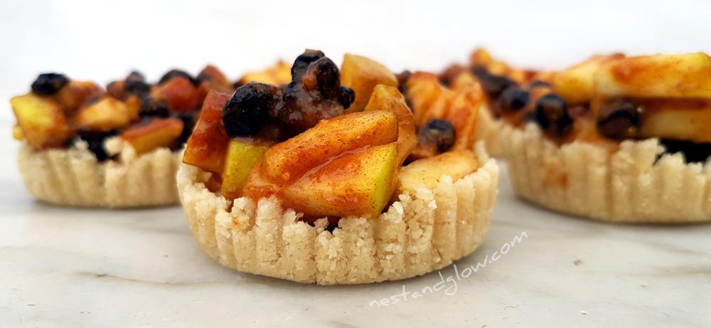 Raw gluten free mince pies