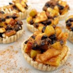 Raw Easy Mince Pies Sweetened with Fruit – Gluten and Flour Free