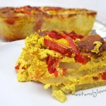 Sunflower Seed Cheese and Tomato Potato Bake Recipe