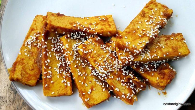 Crispy healthy tofu that isn't fryed