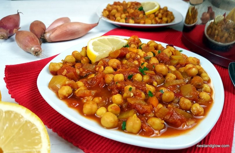 soured chickpea lemon curry recipe