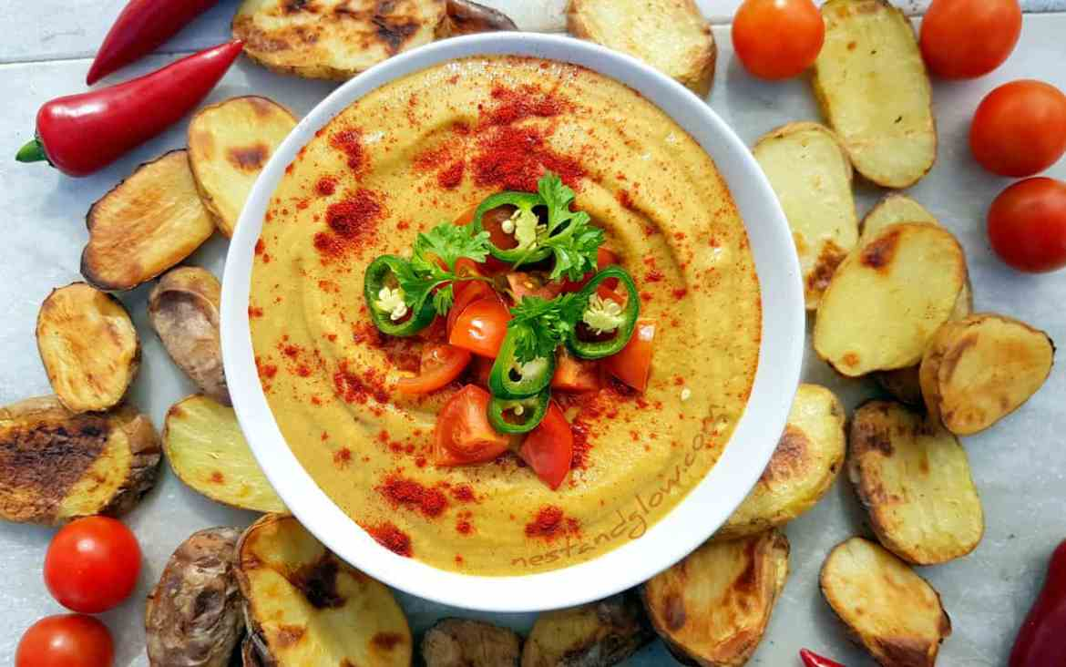 Light Queso Vegan Cheese Dip Recipe