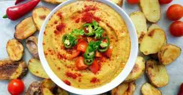 Light Queso Vegan Cheese Dip Recipe