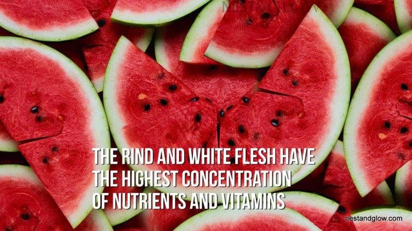 eat watermelon rind