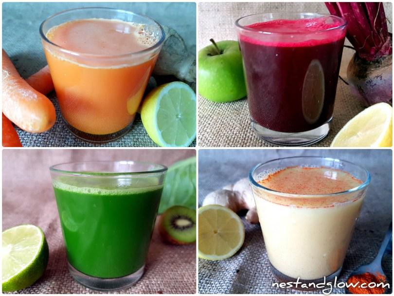 easy fruit vegetable shot recipes