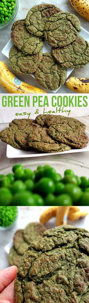 Green Pea Sweet and Salty Cookies Recipe