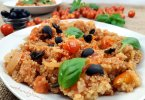 One-pot Tomato Basil Quinoa Recipe