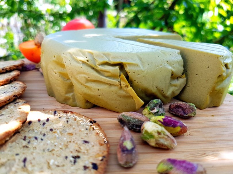 Easy to make Pistachio Nut Cheese