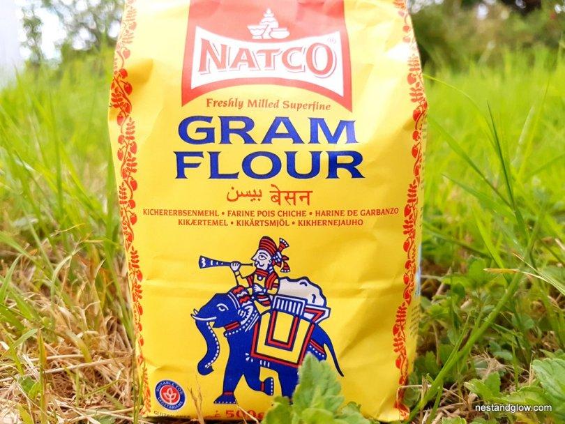 A bag of chickpea / gram flour