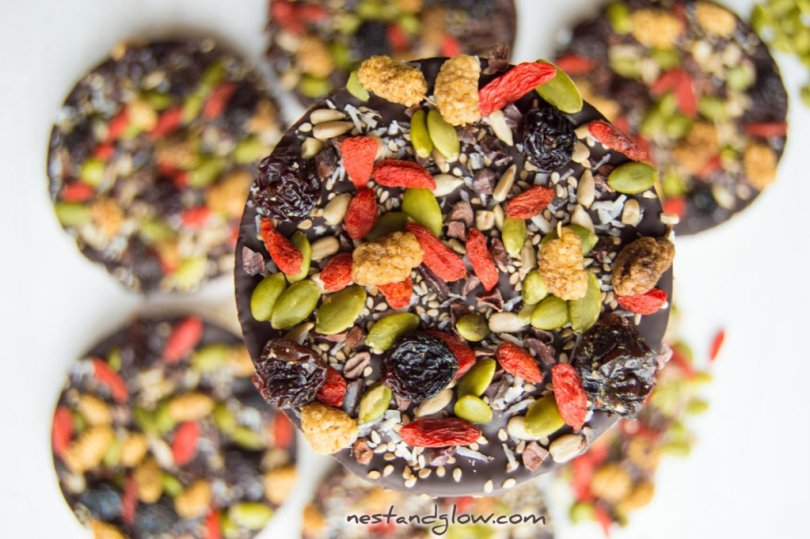 Dark Chocolate Vegan Rice Cakes
