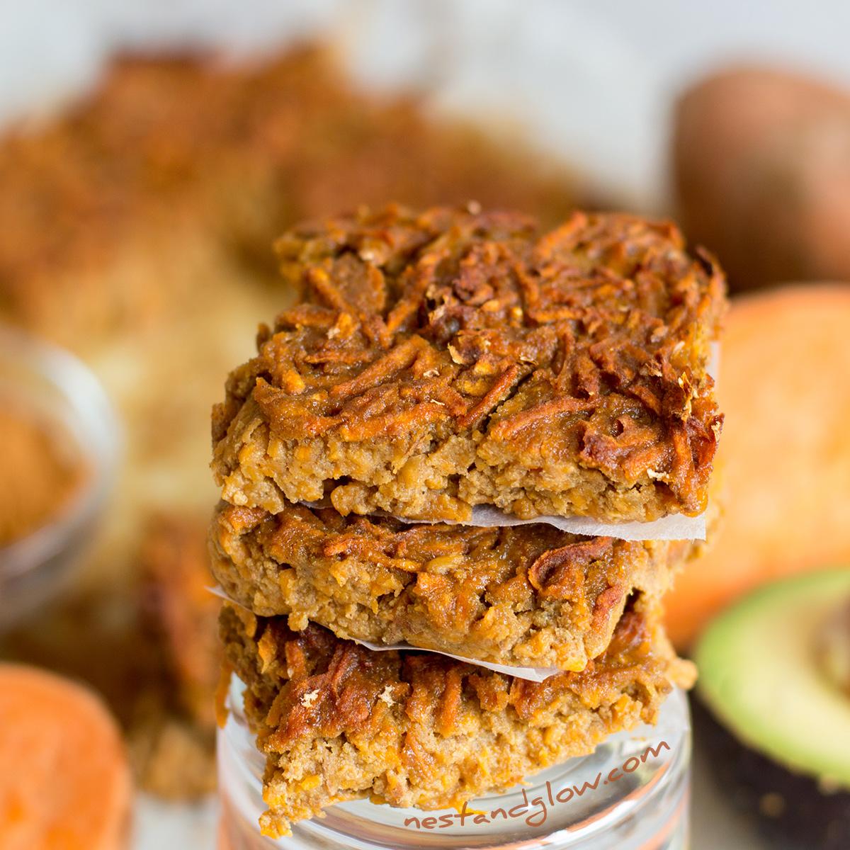 Sweet Potato Quinoa Cinnamon Bites