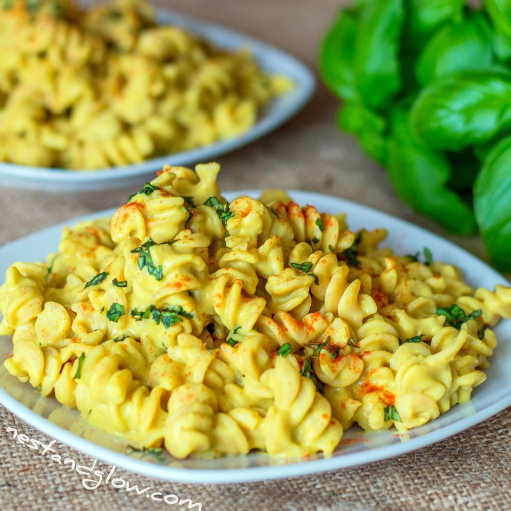 Cheesy Protein Pasta Vegan