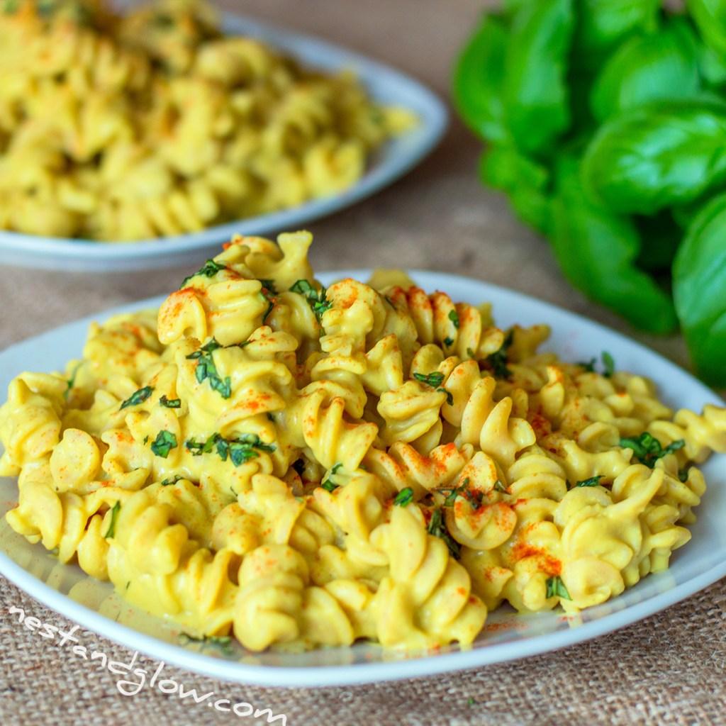Cheesy Protein Pasta Vegan