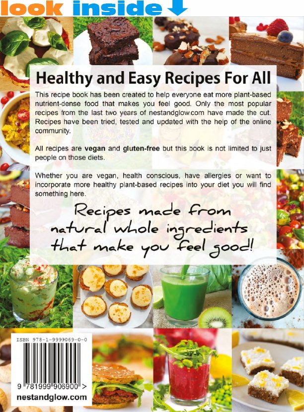 Healthy and easy recipe book nest and glow cost forumfinder Image collections