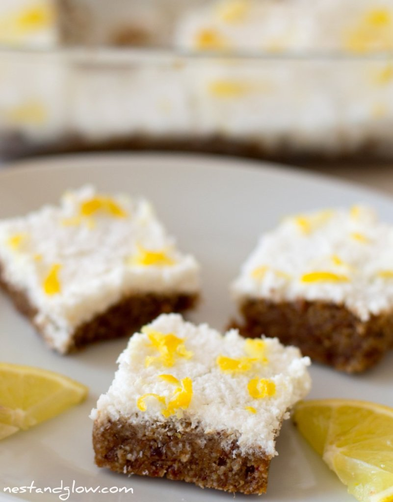 lemon drizzle seed cake gluten free