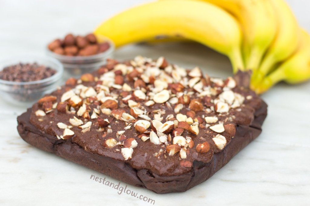 Quinoa Chocolate Banana Bread Nut-free