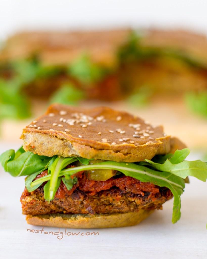 Quinoa Veggie Burger Gluten-free Sliders