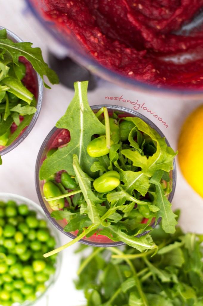 Healthy Bean Protein Pots