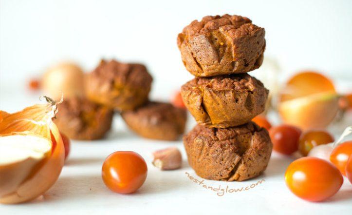 Quinoa Sundried Tomato Muffins