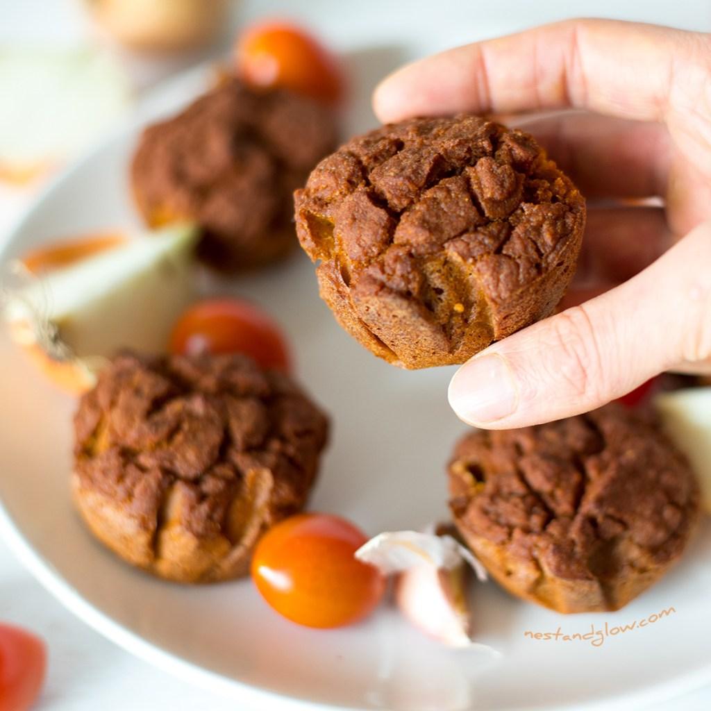 Gluten free Quinoa Sundried Tomato Muffins