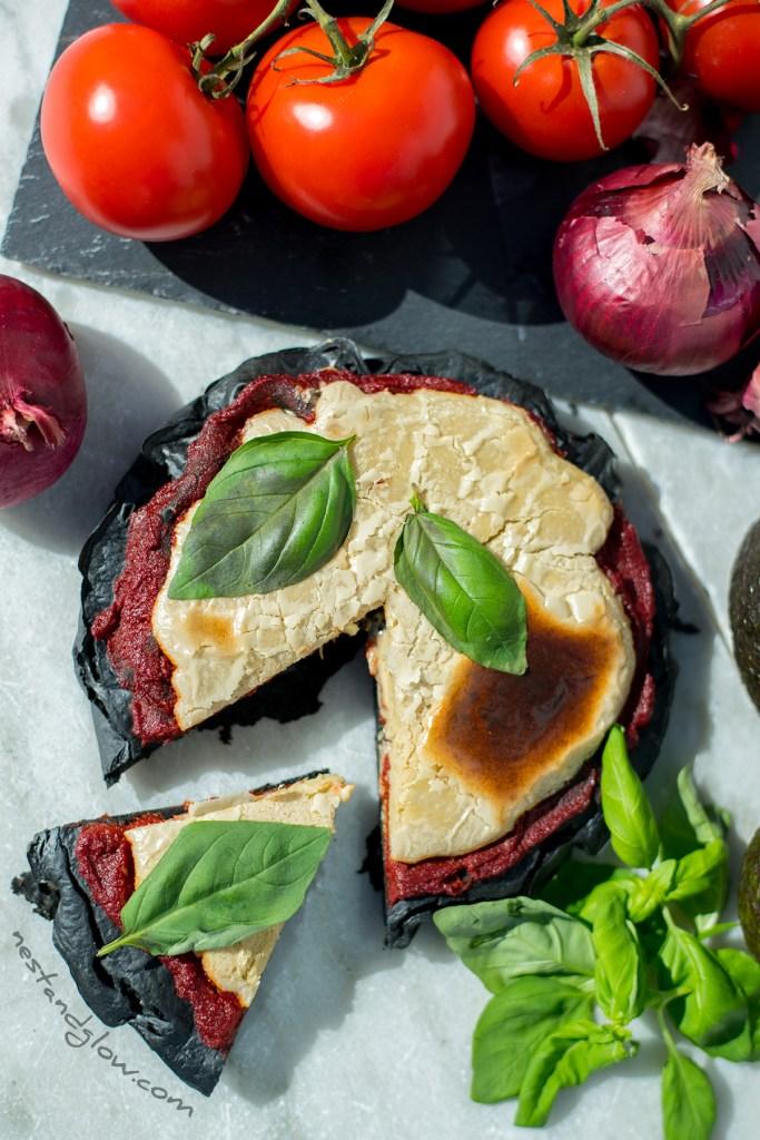 easy gluten-free vegan pizza no yeast