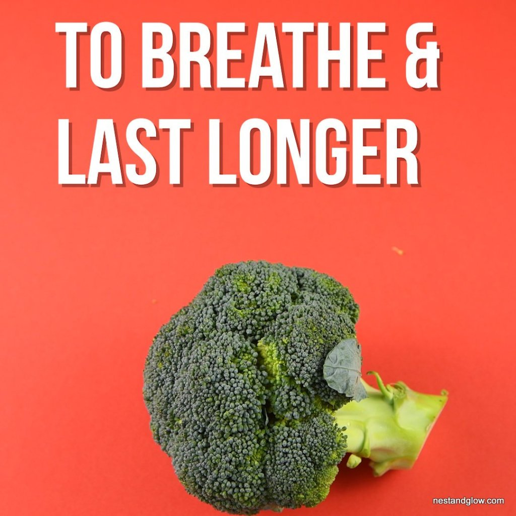 take broccoli out of plastic packet