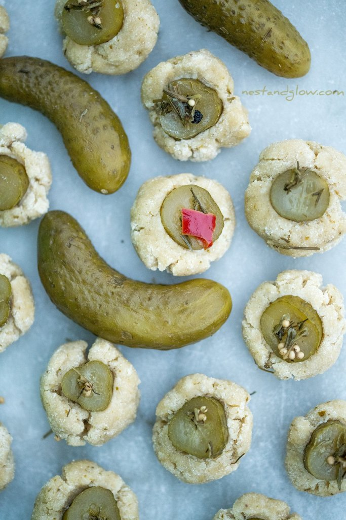pickle cookies that are vegan with no egg or butter