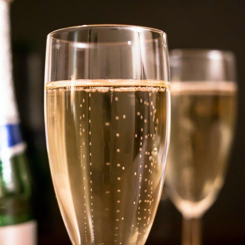 champagne CO2