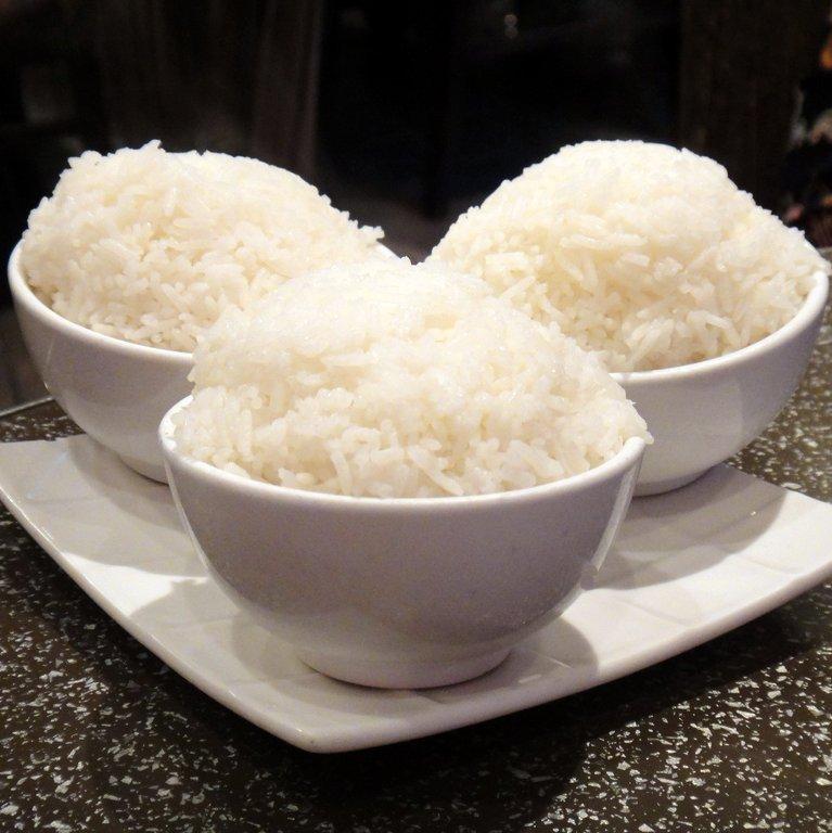starchy carbs rice