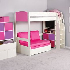 Sofa Bed For Child Fabric Cleaning Services Navi Mumbai Uno S Highsleeper Col Headboards By Stompa Coloured
