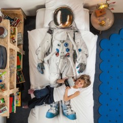 Play Kitchens For Sale Compact Appliances Small Astronaut Duvet Set - White Kids In S.a.