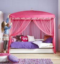 Four Poster Bed with 1001 Nights Canopy for kids in S.A