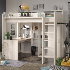 Wooden Toy Kitchens Steel Kitchen Table Reece Highsleeper Bed - Nordic Ash For Children In S.a.
