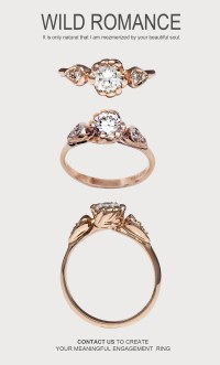 Custom Unique Engagement Rings and Wedding Bands ...