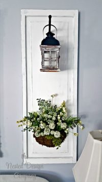 How to Make Candle Lantern Wall Sconces - THE NESTED ...