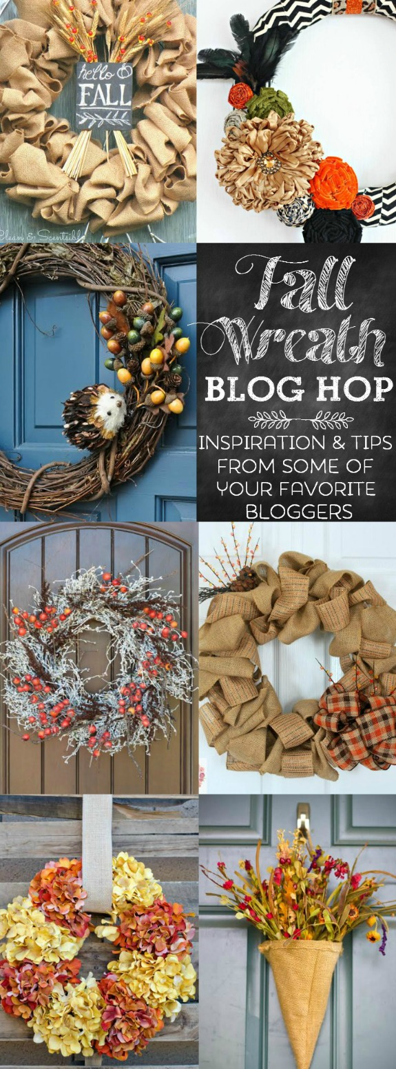 Fall Wreath Blog Hop