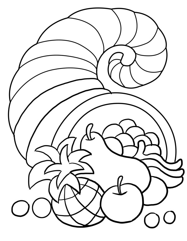 thanksgiving coloring pages # 10