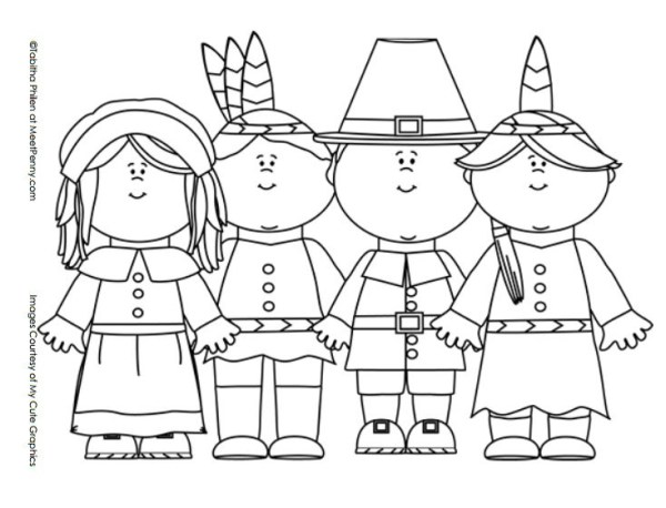 thanksgiving coloring pages # 29