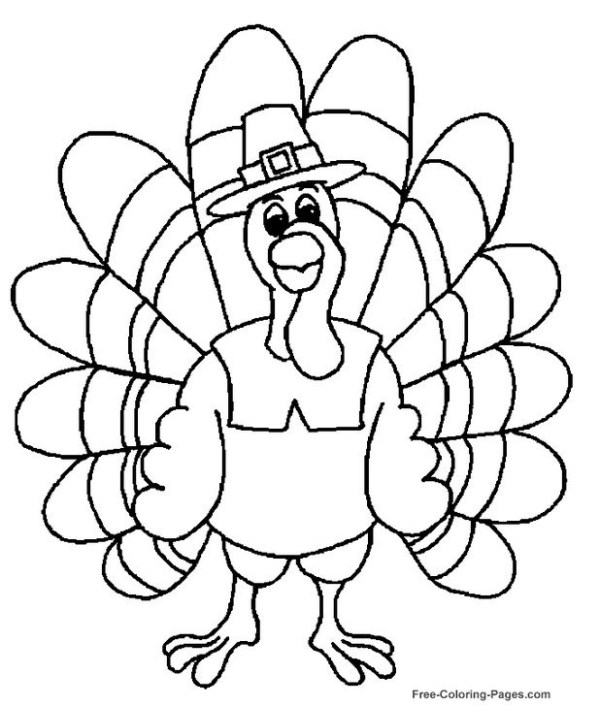 free coloring pages thanksgiving # 16
