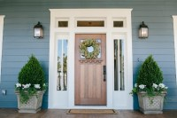 Fixer Upper Front Porch and Door Ideas - Nest of Posies