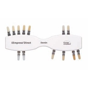 IPS Empress Direct Shade Guide, Dentin Shades. Single
