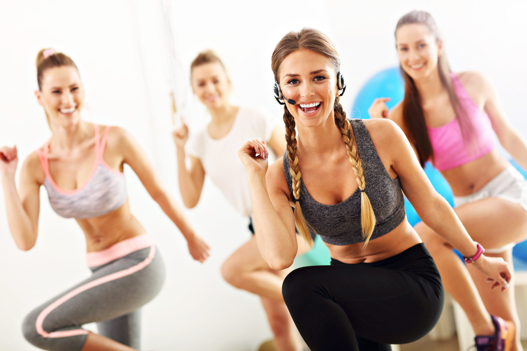 host a fitness workshop
