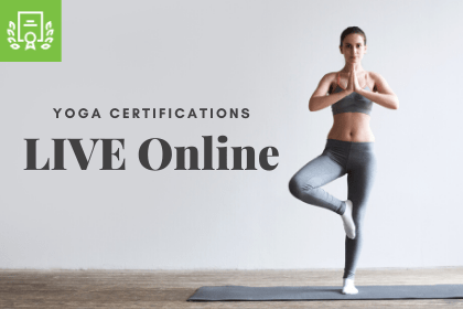 Available online, Live Yoga Certifications